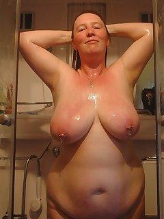 BBW Shower Pics
