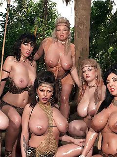 BBW Group Sex Pics